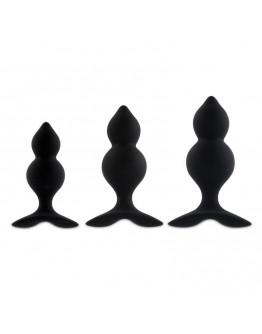 Bibi Anālo spraudņu komplekts, melns