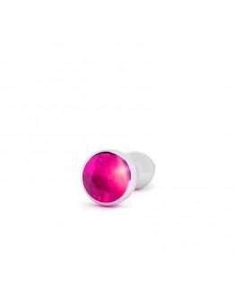 Rich rozā spraudnis, 10cm sudraba