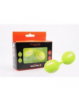 Vaginālās bumbiņas, zaļas