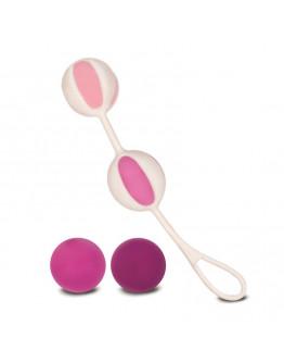 Geisha Balls, vaginālās bumbiņas, rozā
