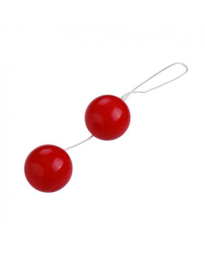 Vaginālās bumbiņas, sarkanas