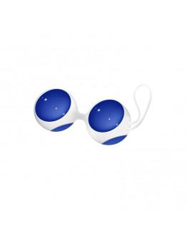 Liela izmēra vaginālās bumbiņas, zilas