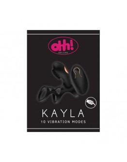 Kayla, pāru stimulators, melns