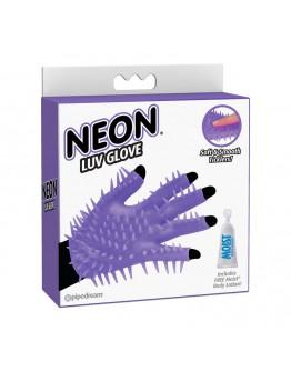 Luv Glove, violets