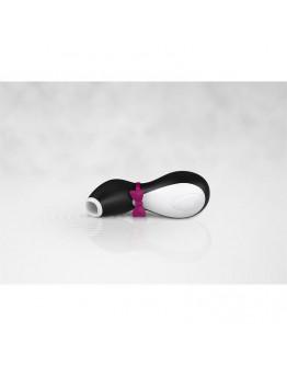 Pro Penguin jaunākās paaudzes klitora stimulators- melns ar baltu