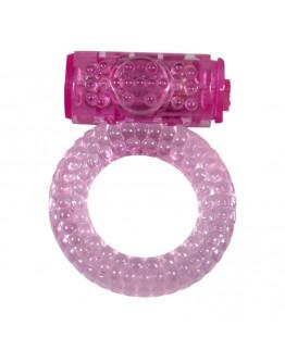 Bubbles, vibrējošs erekcijas gredzens, rozā