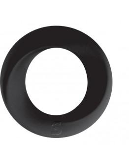 Endless Cockring, vidēja izmēra erekcijas gredzens, melns