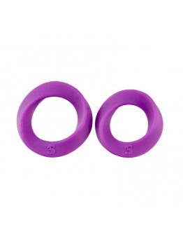 Endless Cockring, divu izmēru erekcijas gredzeni, violeti