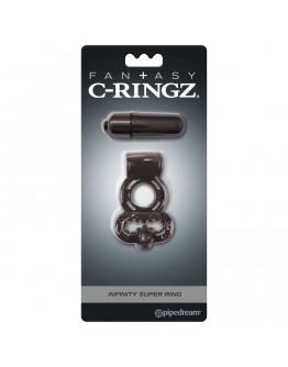 Infinity super ring, melns erekcijas gredzens