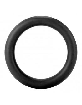 Liels erekcijas gredzens, melns