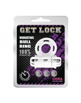 Vibrating Bull Ring, erekcijas gredzens, caurspīdīgs