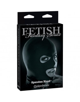 FETISH FANTASY limited edition Spandex maska,melna