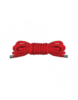 Japāņu mini virve 1,5 m sarkana