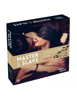 Master and Slave sasaišu spēle, leoparda raksta
