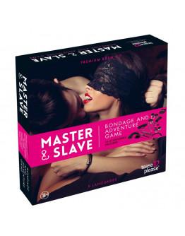 Master and Slave sasaišu spēle, rozā leoparda raksta