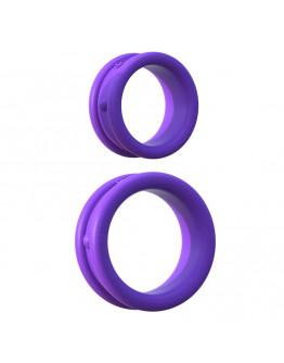 Plati silikona gredzeni, violeti