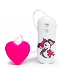tokidoki x Lovehoney 10 funkciju silikona rozā sirds formas klitora stimulators