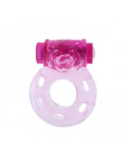 Vibrējošs erekcijas gredzens, rozā