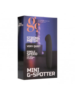 Mini G-Punkta vibrators, melns