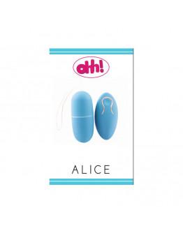 Alice vibrējošā ola, zila