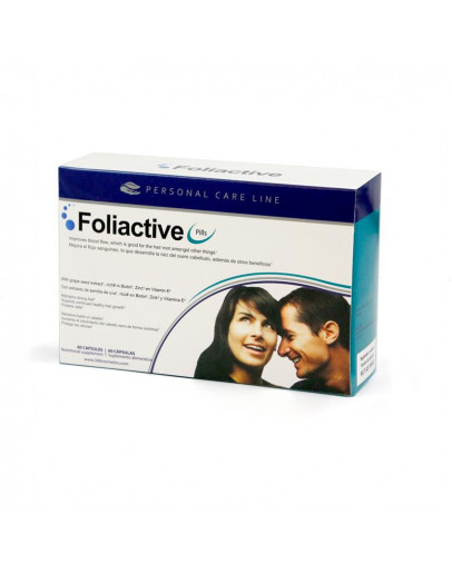 Foliactive, kapsulas pret matu izkrišanu, 60 kapsulas
