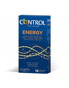 Energy, iepakojums ar 12 prezervatīviem