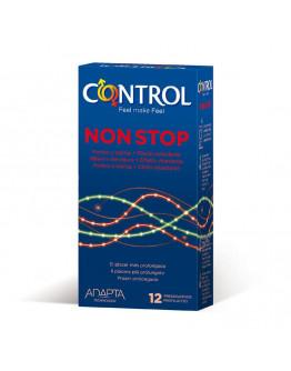 Non Stop, iepakojums ar 12 prezervatīviem