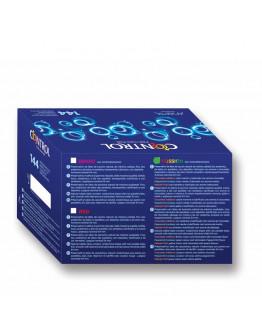 Caja Profesional Fussion, iepakojums ar 144 prezervatīviem