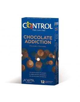 Chocolate Addiction, iepakojums ar 12 prezervatīviem