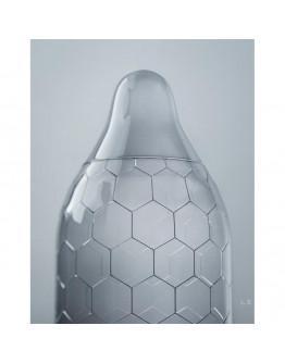 Hex, XL izmēra prezervatīvi, 12gb