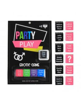 Party Play, erotiska metamo kauliņu spēle