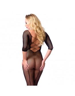 Melns tīkliņ auduma kaķenes tērps, viens izmērs