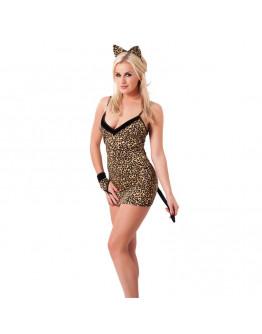 Leoparda raksta kleitiņa, viens izmērs