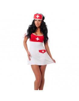 Medmāsas kostīms, viens izmērs