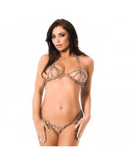 Regulējama izmēra metāla bikini