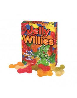 Jelly Willies, konfektes ar augļu garšu
