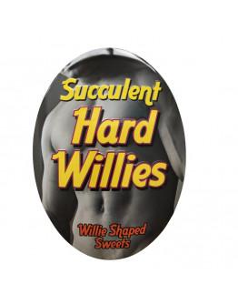 Succulent Hard Willies, konfektes ar augļu garšu