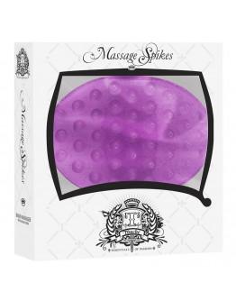 Massage spikes, violets masāžas cimds