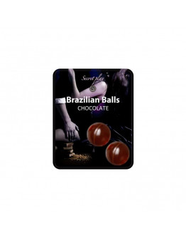 Brazilian Balls ar šokolādes aromātu