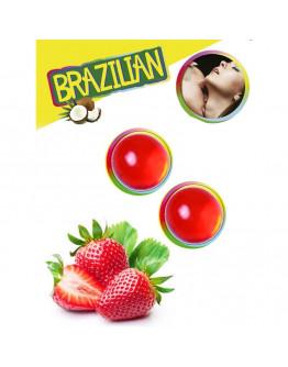 Brazilian Balls ar zemeņu aromātu