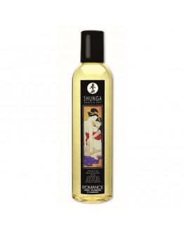Erotiskās masāžas eļļa ar zemeņu un dzirkstošā vīna aromātu, 250ml