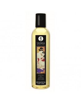 Erotiskās masāžas eļļa ar lavandas aromātu, 250ml