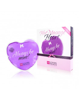 Hot Massage Heart, masāžas ierīce, violeta