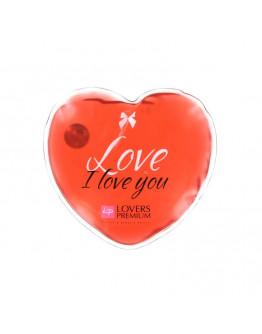 Hot Massage Heart, masāžas ierīce, sarkana