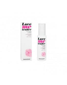 Love Me Tender, masāžas eļļa ar siltuma efektu un cukurvates aromātu, 100ml