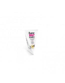Love Me Tender, masāžas eļļa ar siltuma efektu un vaniļas aromātu, 10ml