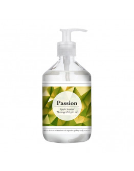 Passion, masāžas eļļa ar ābolu aromātu, 500ml