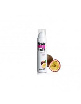Tickle My Body, masāžas putas ar pasiflora augļa aromātu, 150ml