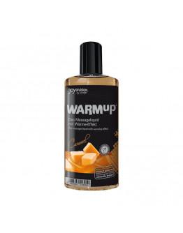 WARMup masāžas eļļa ar karameļu aromātu, 150ml