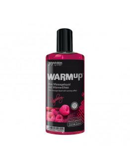 WARMup masāžas eļļa ar aveņu aromātu, 150ml